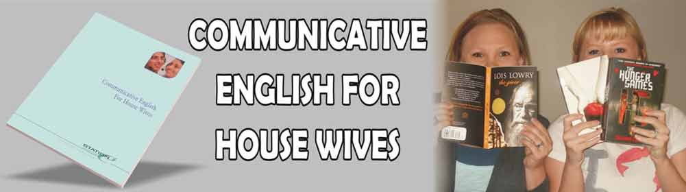 Communicative English For Housewives